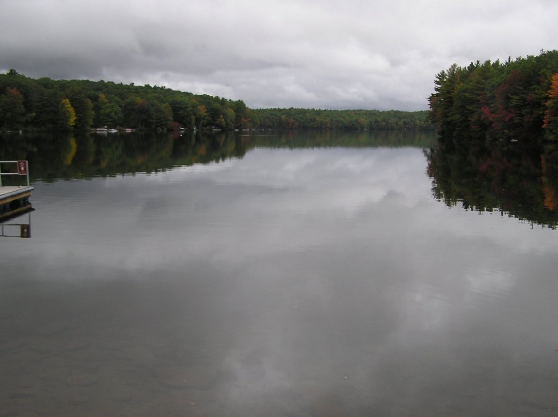 The post a picture from your town thread new england for Comet pond fish